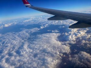 norwegianin kanarian lento